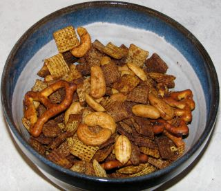 How to make Best Hot and spicy Chex party mix