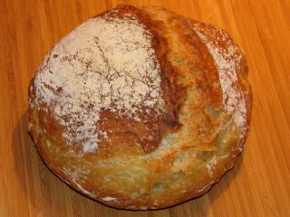 the basic no-knead bread recipe
